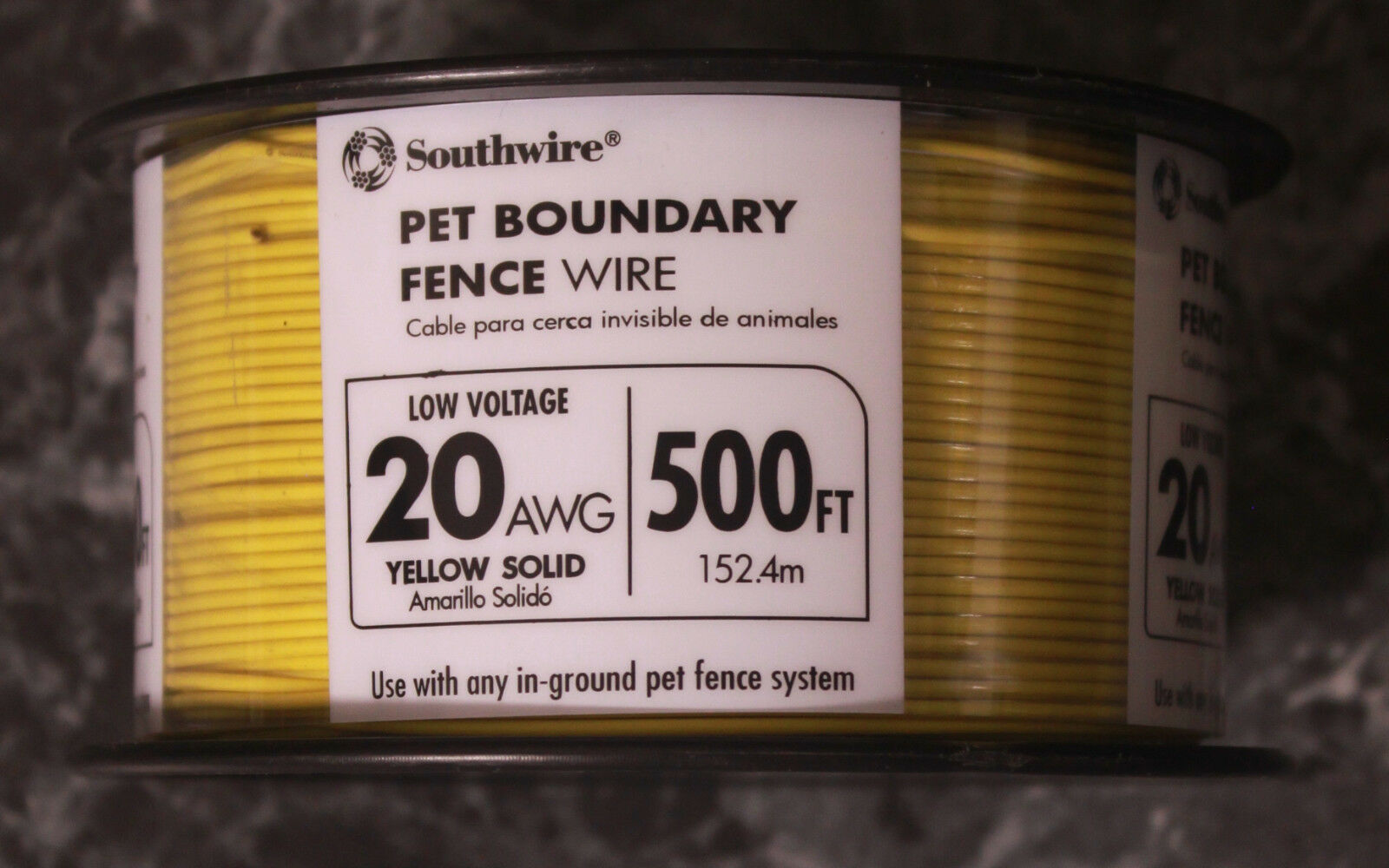 Southwire 500ft.Pet Boundary Wire 20-gauge Solid Copper In-Ground Electric Fence