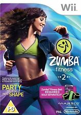 Zumba 2 Fitness (Wii) - Game Only Nintendo Wii PAL Brand New