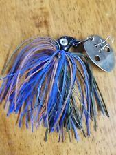 5 pack 1//2oz Threadfin Football Jig w// 5//0 Eagle Claw Black Nickel hook
