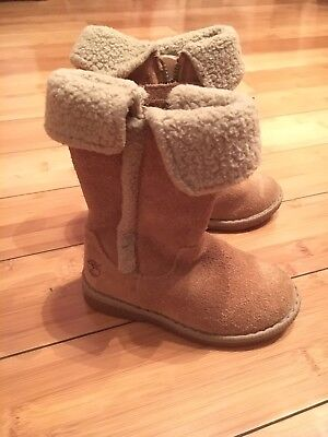 Wonder Nation Toddler Little Girls Shearling Booties Shoe Kids Winter Snow Boots