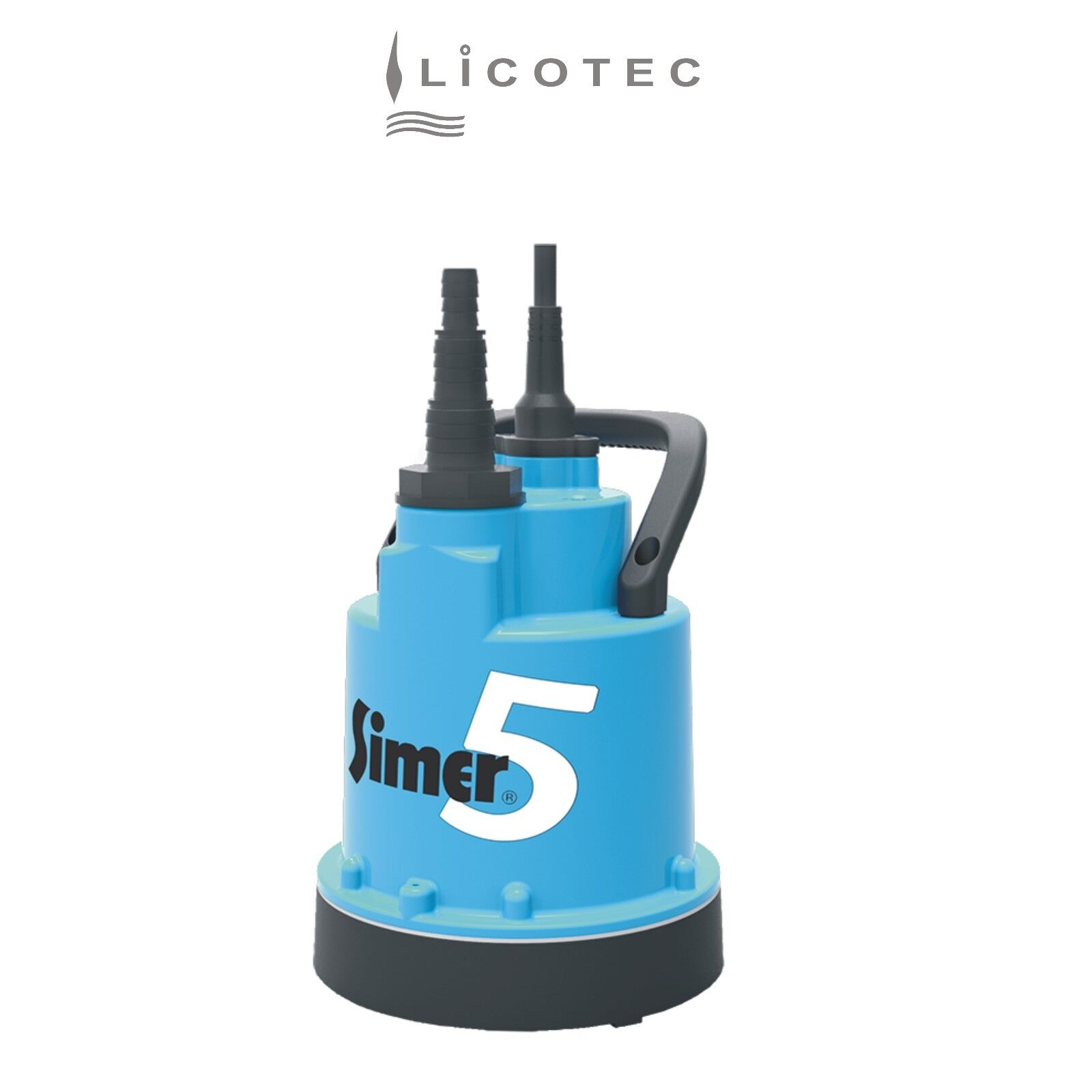 Young Pumps/Simer Flat Cleaner Submersible Pump without Float Switch