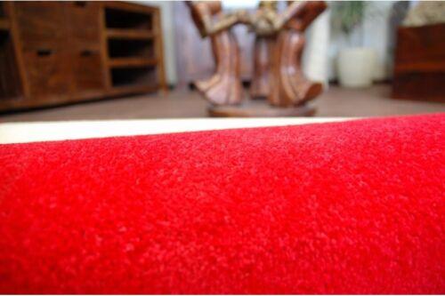 Cheap Runner Couloir Moderne Rouge Couloir Largeur 50 60 70 cm Tapis feltback Tapis