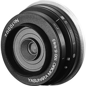 Yasuhara-MOMO-100-43mm-f-6-4-Soft-Focus-Pancake-Lens-f-Canon-EF-Mount-Camera