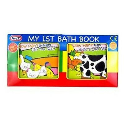 Active My 1st First Bath Book Baby Toddler Bath Time Play Fun Educational Game 0+months