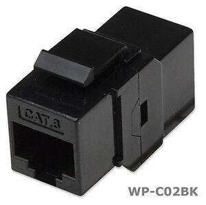 RJ45-Female-to-Female-UTP-CAT-6-Keystone-Coupler-Black