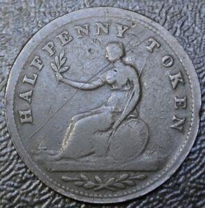 1815-HALF-PENNY-TOKEN-Lower-Canada-COPPER-Victoria-Nobis-BR982-LC-49A2