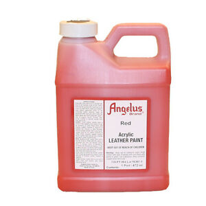 Angelus lederfarbe Rot 472 ml (064) Acryl Lederfarbe (63,45 €/1L)