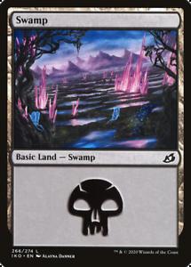 x8 Swamp IKO MTG Ikoria 266//274 LAND M//NM 8x