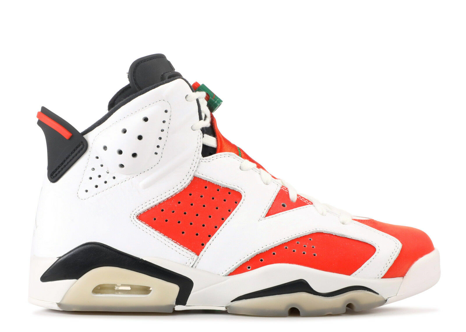 nike air jordan 6 vi gatorade white, größe 10,5 wie mike white, gatorade orange - schwarz.384664-145 0b08ad