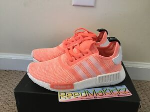 99a0f5d34 Image is loading Adidas-NMD-R1-Sun-Glow-Womens-sizes-BY3034