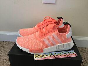 aa2b11992fbfc Image is loading Adidas-NMD-R1-Sun-Glow-Womens-sizes-BY3034