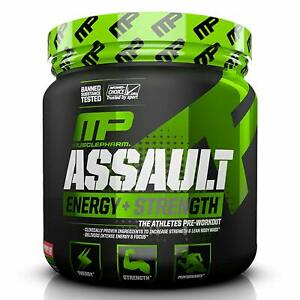 Musclepharm-ASSAULT-SPORT-Energy-Strength-Pre-Workout-30-Serves-STRAWBERRY-ICE