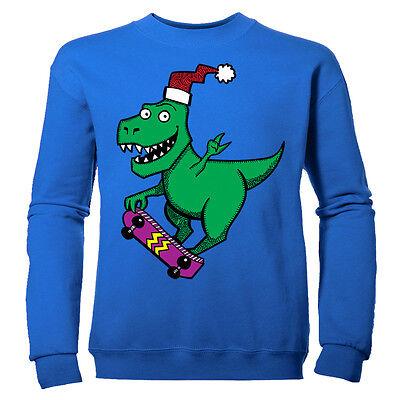 NUOVO Dinosauro Dino Grigio Per Bambini Costume Vestito Travestimenti Costume 3-7 anni