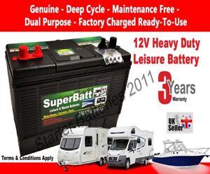 4 Year Warranty 2x Hankook XL31 130Ah Leisure Battery for Caravan Camper Motorhome Boat 12V 330 x 172 x 242mm