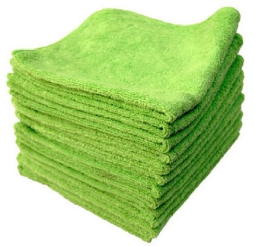 6 HIGH QUALITY 16x16 AUTO DETAILING MICROFIBER TOWELS