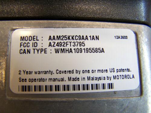 Motorola CDM750 VHF 136-174 45 Watt Mint Condition Tested 3340