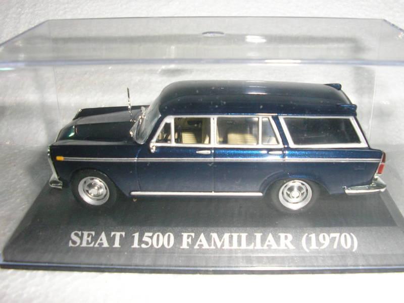 SEAT 1500 FAMILIAR , 1970 , IXO   ALTAYA