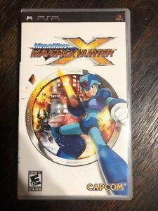 Mega-Man-Maverick-Hunter-X-Psp-Sony-Playstation-Psp-Complete