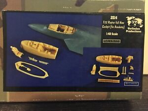 Details about VERLINDEN Productions F22 Raptor Full New Cockpit -for  Academy 1:48 Scale #2514