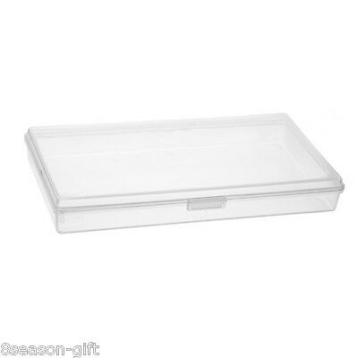 1PC Plastic Storage Box For Mobile Phone Jewelry Tool Container 14.9x8x2cm