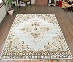 Antique-Agra-Traditional-Parsian-Handmade-Wool-Oriental-Style-Area-Rug-amp-Carpet