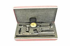 Starrett No 711 Last Word Dial Test Indicator 001 With Case