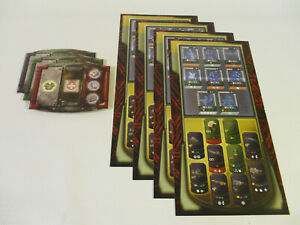 DOOM: The Board Game REFERENCE & EQUIPMENT BOARDS by Fantasy Flight Games!!