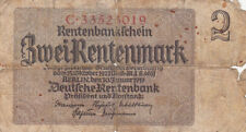 ALLEMAGNE GERMANY 2 MARK 1937 état voir scan 019