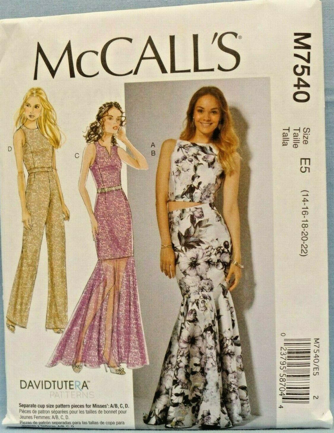 Belt /& Skirts Sizes 14-22 Uncut McCalls M7017 Pattern Misses Tops