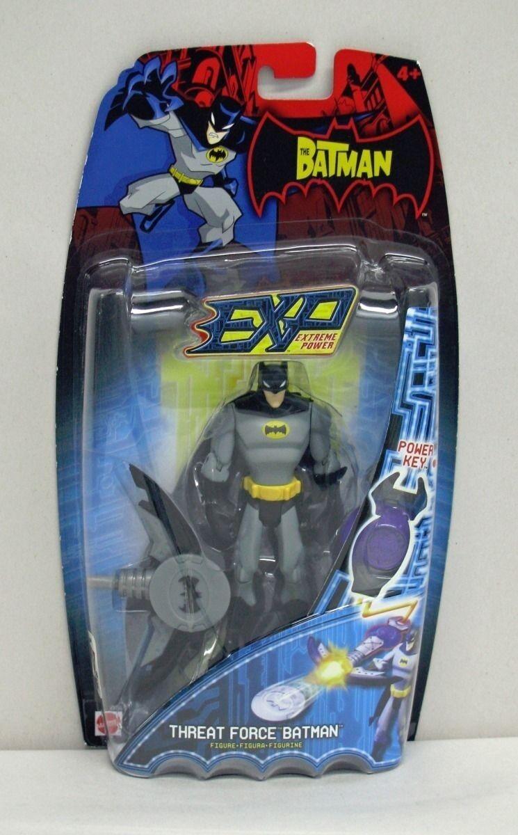 The Batman Animated EXP Threat Force Batman Mattel NIP 2006 4+ 5 inch S200-1