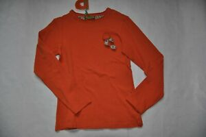 Paglie-Shirt-Langarm-Gr-134-140-Neu-zimt-orange