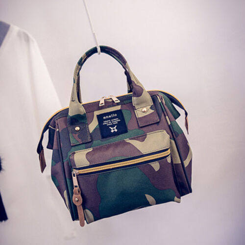 Japan Anello Travel Backpack Unisex Canvas Rucksack Quality School Bag Bookbags