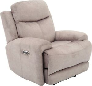 Terrific Details About Bowie Doe Fabric Powered Recliner With Power Headrest And Usb Charging Port Caraccident5 Cool Chair Designs And Ideas Caraccident5Info