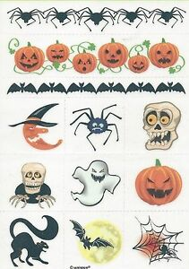 Halloween-Party-Supplies-Halloween-Temporary-Tattoos-24-per-pack