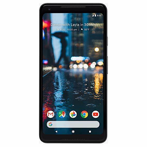 Google Pixel 2 XL 64GB 'Just Black' -LCD BURN-UNLOCKED With warranty