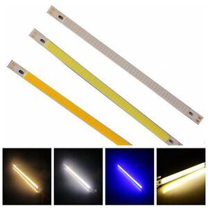 200X10MM-Calor-Blanco-Panel-De-Luz-LED-Tira-De-La-Lampara-DC12-24V-COB-Viruta