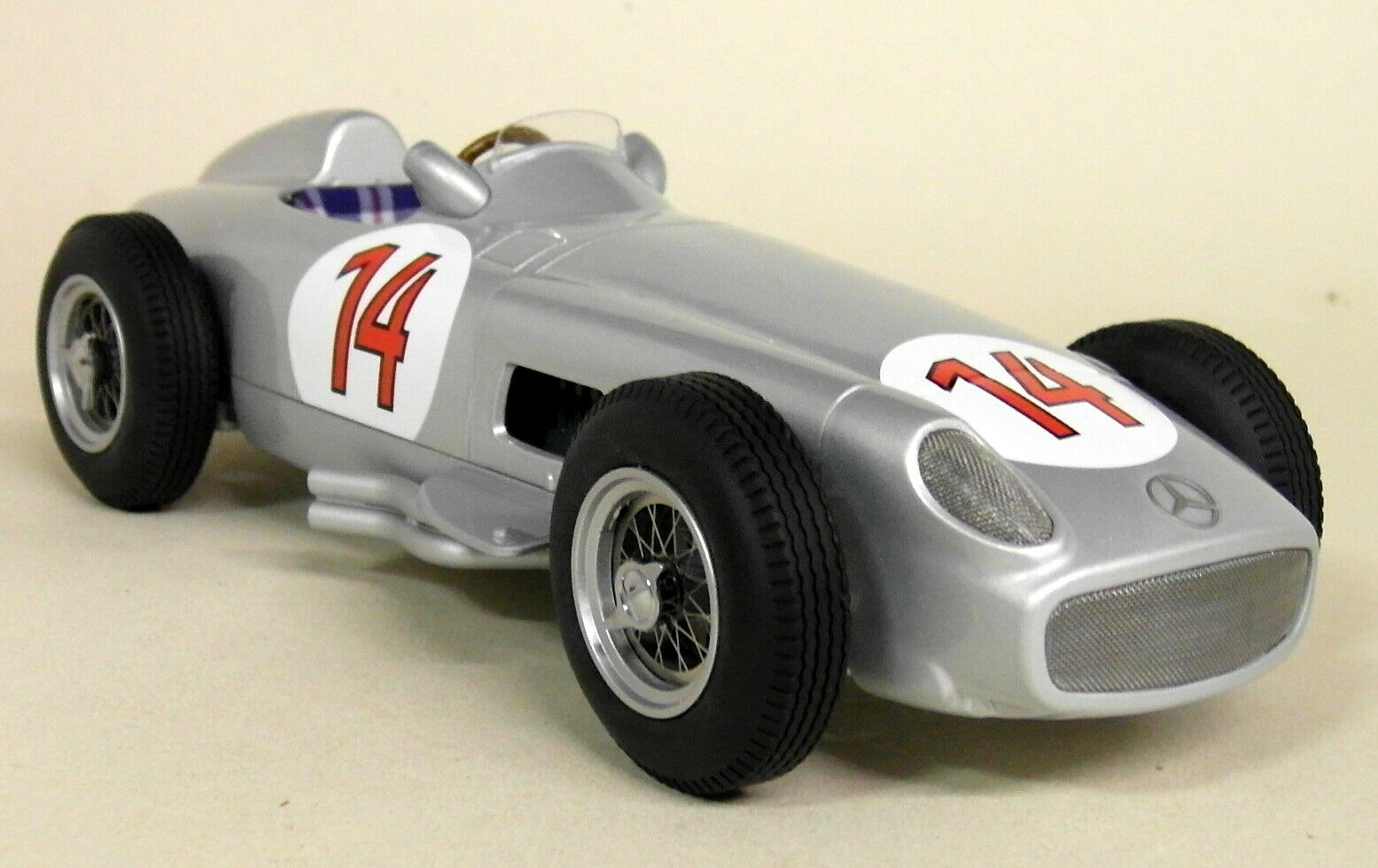 IScale 1 18 Scale S Moss Mercedes W196 F1 1955 2nd Belgian GP Resin Model Car
