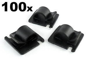 Lot-de-100-GRAND-AUTOCOLLANT-montage-pour-le-rangement-routage-metiers-fil-et