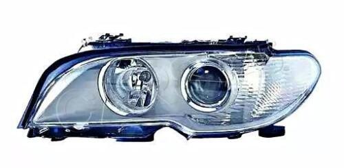 BMW E46 03-06 Facelift LCI Xenon Headlight Graphite Right White corner