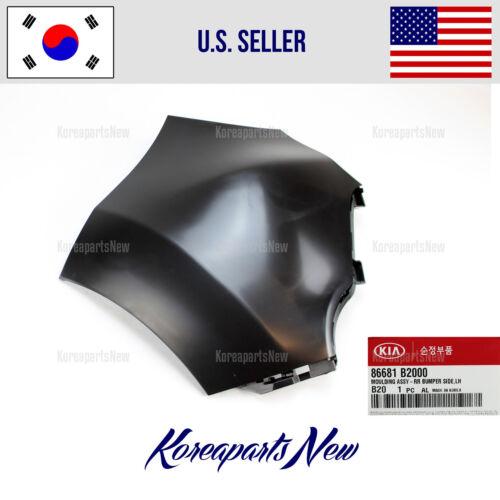 REAR BUMPER COVER LEFT PANEL 86681B2000 KIA SOUL 2014-2016 DRIVER SIDE