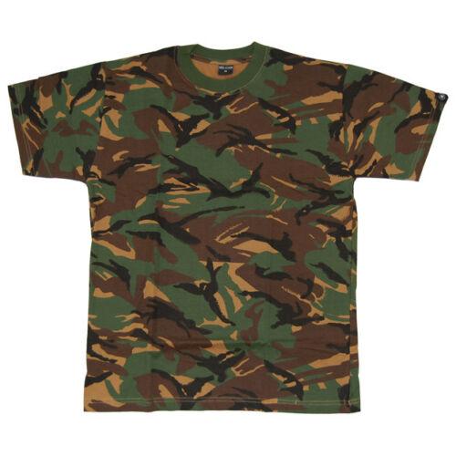 DPM CAMO TEE MIL-COM BRITISH ARMY MENS COMBAT T-SHIRT MILITARY STYLE TOP S-XXL