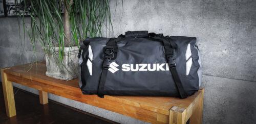 Genuine Suzuki 35 Litres Unisex Suzuki Dry Bag Black Tarpaulin Shoulder Belt New