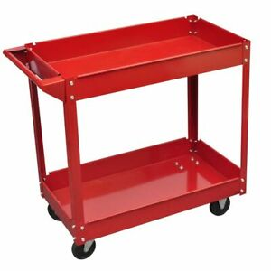 vidaXL-Workshop-Tool-Trolley-100kg-Garage-Transport-Carrier-Cart-Hand-Truck