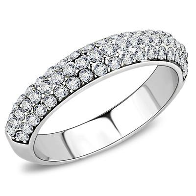 Brilliant Top Grade Crystal Fashion Cocktail Ring 5 6 7 8 9 10 TK3437