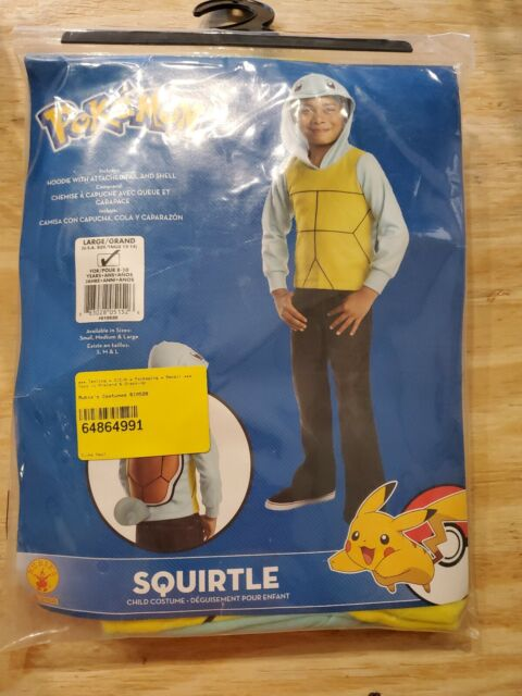 Rubies Costume Pokemon Squirtle Child Costume Large
