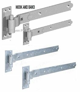 12-034-GATE-HOOK-AND-amp-BAND-HINGES-HEAVY-DUTY-STABLE-GARAGE-SHED-BARN-DOOR