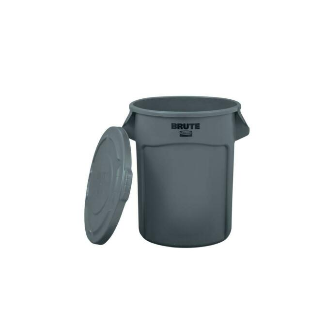 Rubbermaid Commercial S 20 Gal, Rubbermaid Outdoor Garbage Can With Lid