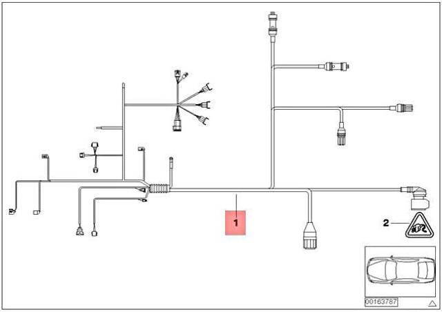 Transmission Wire Harness 12517545213 Fits 2006 BMW 325i E90 for sale  online | eBayeBay
