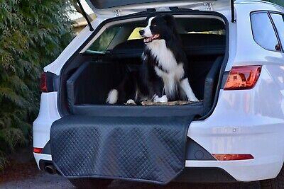 Honig Autohundebett Anschnallsystem Transportbett Hundebett Kofferraum Autoschondecke