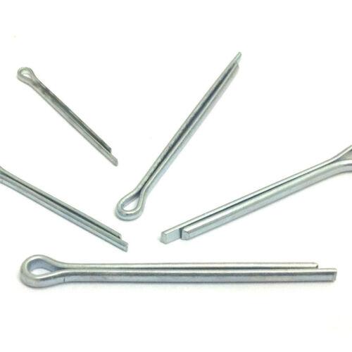 2 mm 2.5 mm 3.2 mm 4 mm A2 Acciaio Inox Split Pins PERNO COPPIGLIA Din 94